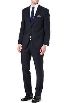HUGO BOSS James Sharp pin dot suit