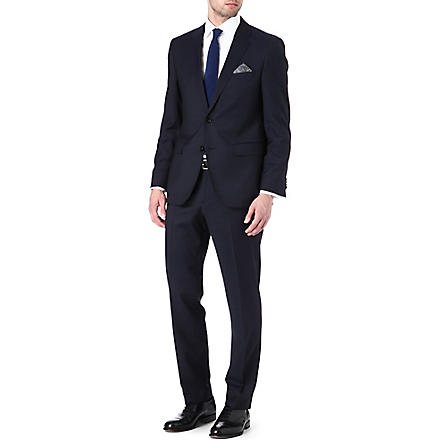 HUGO BOSS James Sharp pin dot suit (Navy