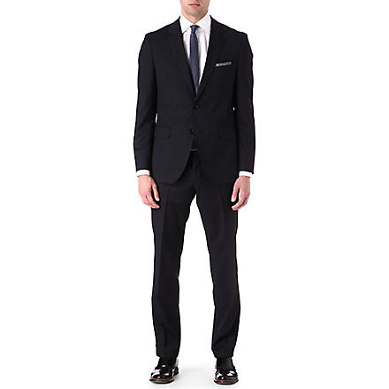HUGO BOSS James Sharp striped suit (Navy