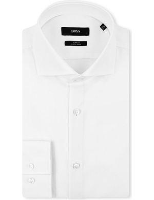 HUGO BOSS Jane slim-fit single-cuff shirt
