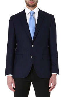 HUGO BOSS Jarett textured wool jacket