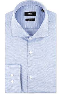 HUGO BOSS Jaron slim-fit single-cuff shirt
