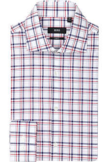 HUGO BOSS Jarron slim-fit single-cuff shirt
