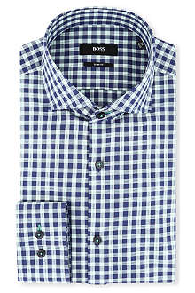 HUGO BOSS Jaser slim-fit single-cuff shirt