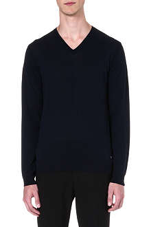 HUGO BOSS Jeafrey silk-blend jumper