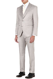 HUGO BOSS Jefford/Lennon silk three-piece suit