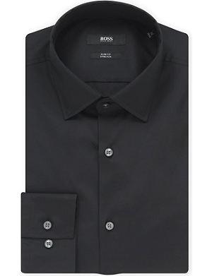HUGO BOSS Jenno slim-fit single-cuff shirt