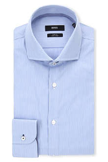 HUGO BOSS Jery slim-fit striped shirt