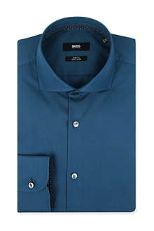 HUGO BOSS Jery slim-fit single-cuff shirt