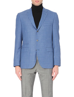 HUGO BOSS Johnston hopsack wool jacket