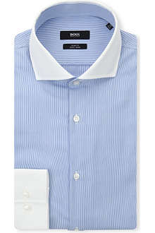 HUGO BOSS Jonah slim-fit cotton shirt
