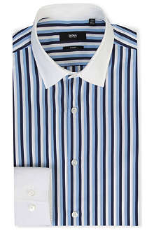 HUGO BOSS Jonne slim-fit single-cuff shirt
