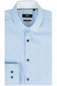 HUGO BOSS Juri trim-detail shirt