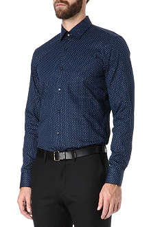 HUGO BOSS Slim-fit cotton shirt