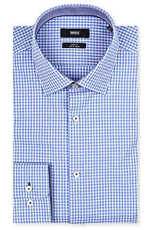 HUGO BOSS Juri slim-fit gingham shirt
