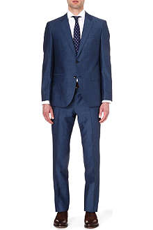 HUGO BOSS Wool-blend single-breasted suit