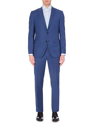 HUGO BOSS Key/Shaft single-breasted wool suit