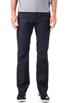 HUGO BOSS Regular-fit straight-leg jeans
