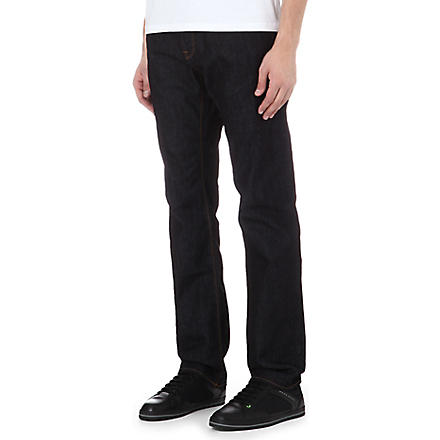 HUGO BOSS Maine regular-fit straight jeans (Indigo