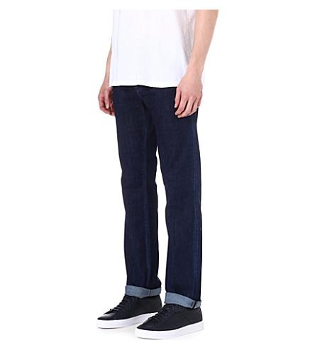HUGO BOSS Maine regular-fit straight jeans (Rinse