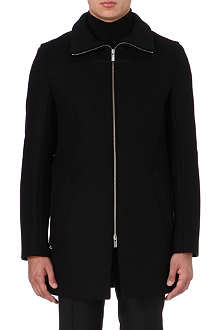 HUGO Mepko wool-blend coat