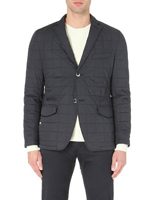HUGO BOSS Murvin quilted shell jacket