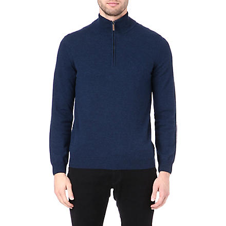 HUGO BOSS Virgin wool jumper (Blue