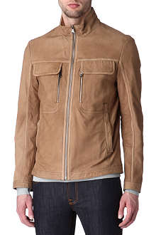 HUGO BOSS Nembi leather jacket