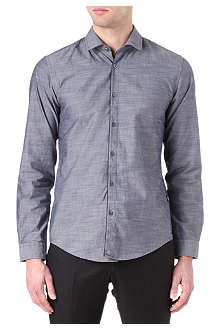 HUGO BOSS Nemo arrow-textured shirt