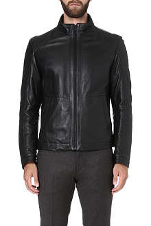 HUGO BOSS Nikson leather jacket