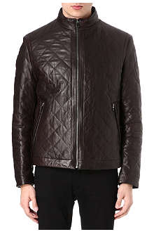 HUGO BOSS Nuro quilted shearling jacket