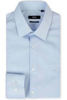 HUGO BOSS Phillo slim-fit single-cuff shirt