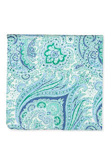 HUGO BOSS Paisley pocket square