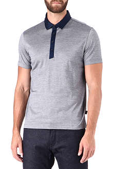 HUGO BOSS Mercerised cotton polo shirt