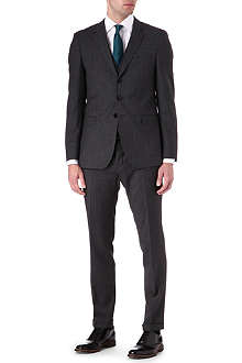 HUGO BOSS Resko/Wize WE three-piece wool suit