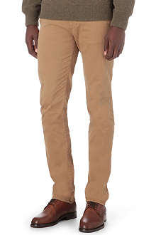 HUGO BOSS Slim stretch-cotton trousers