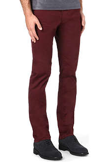 HUGO BOSS Slim gaberdine chino trousers