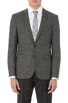 HUGO BOSS Ronney elbow-patch blazer