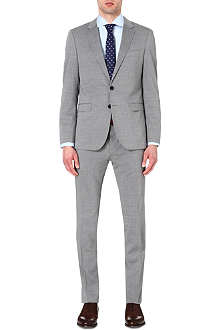 HUGO BOSS Slim-fit wool-blend suit