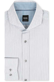 HUGO BOSS Sean regular-fit single-cuff shirt