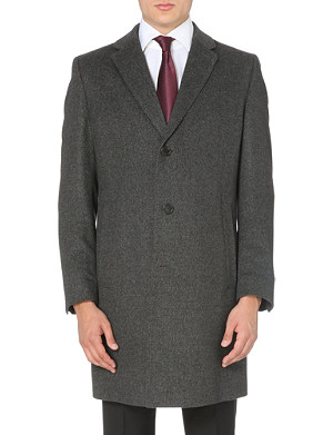 HUGO BOSS Stratus wool-blend coat