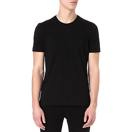 HUGO BOSS Crew-neck t-shirt (Black
