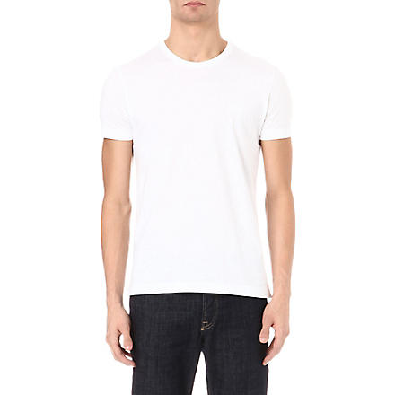 HUGO BOSS Crew-neck t-shirt (White