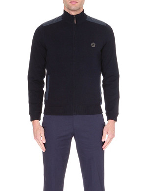HUGO BOSS Talama knitted jacket