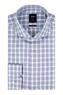 HUGO BOSS T-Christo slim-fit single-cuff shirt