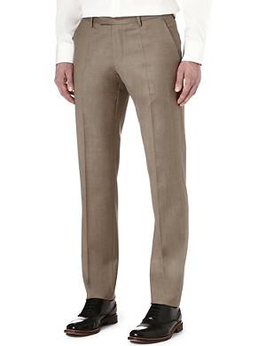 HUGO BOSS T-Court wool trousers