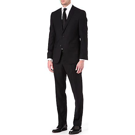 HUGO BOSS Key shaft single-breasted suit (Black