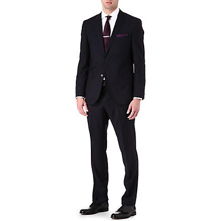 HUGO BOSS Key shaft single-breasted suit (Navy