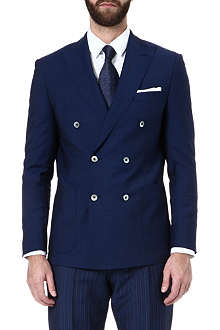 HUGO BOSS Slim-fit double-breasted jacket