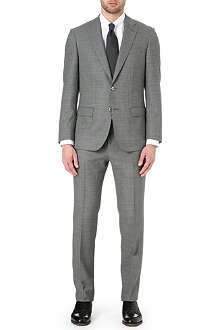 HUGO BOSS T-Hixon/Grey wool suit